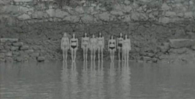 Bañistas costra