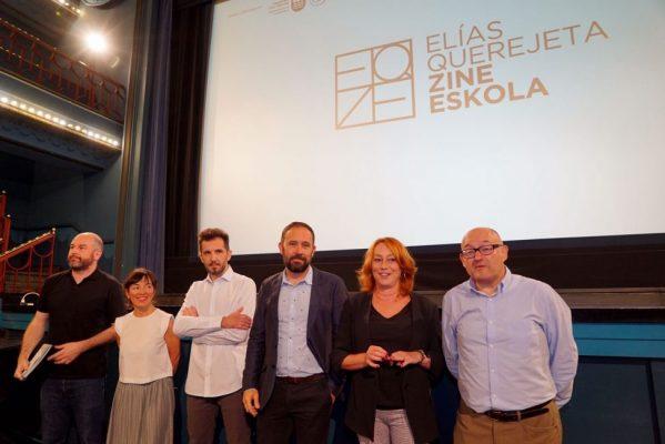 Llega la EQZE: Elías Querejeta Zine Eskola